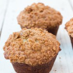 Banana Bread Muffins with Crumb Topping