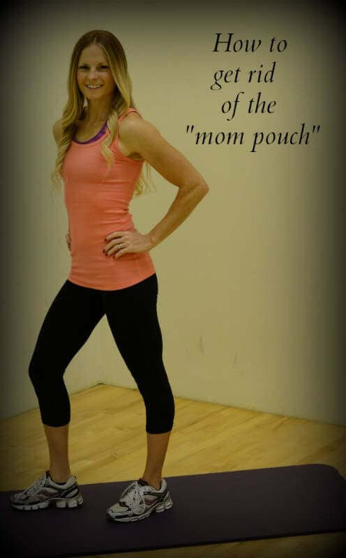 How to get rid of the mom pouch