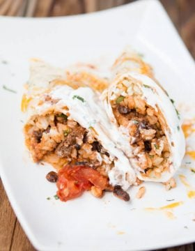 freezer ready burritos that you can prep ahead, freeze and pull out whenever you're hungry ohsweetbasil.com