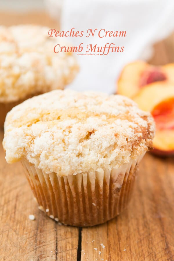 Kristy's Peaches n Cream muffins recipe - oh sweet basil