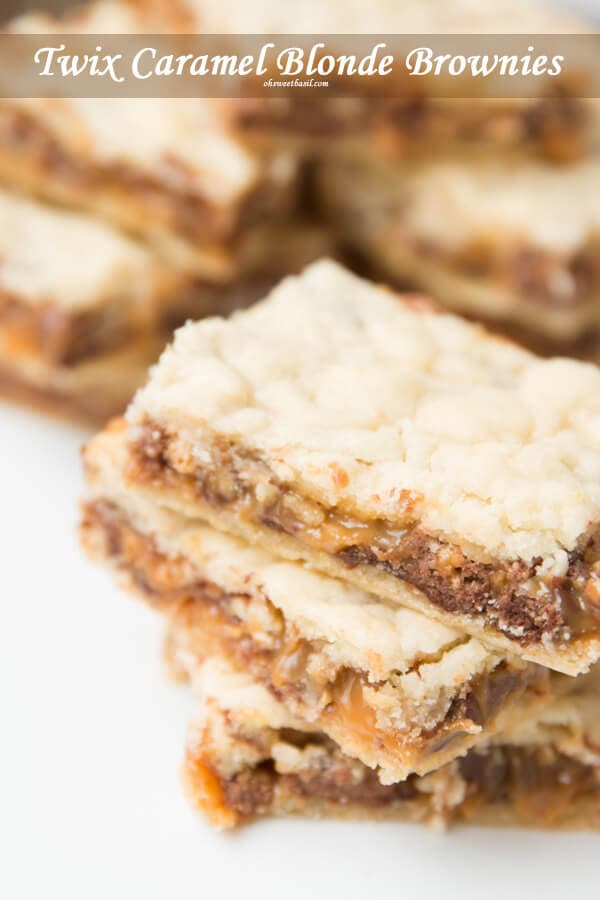 Blonde Brownies Recipe From Cake Mix