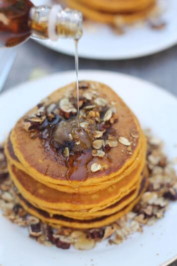 Pumpkin-Pancakes-with-Brown-Butter-and-Pecan-Streusal-2