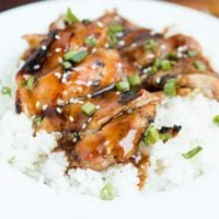 Our favorite recipe for easy teriyaki chicken!! ohsweetbasil.com
