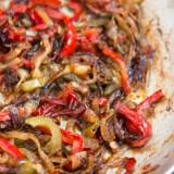 how to caramelize peppers perfectly ohsweetbasil.com