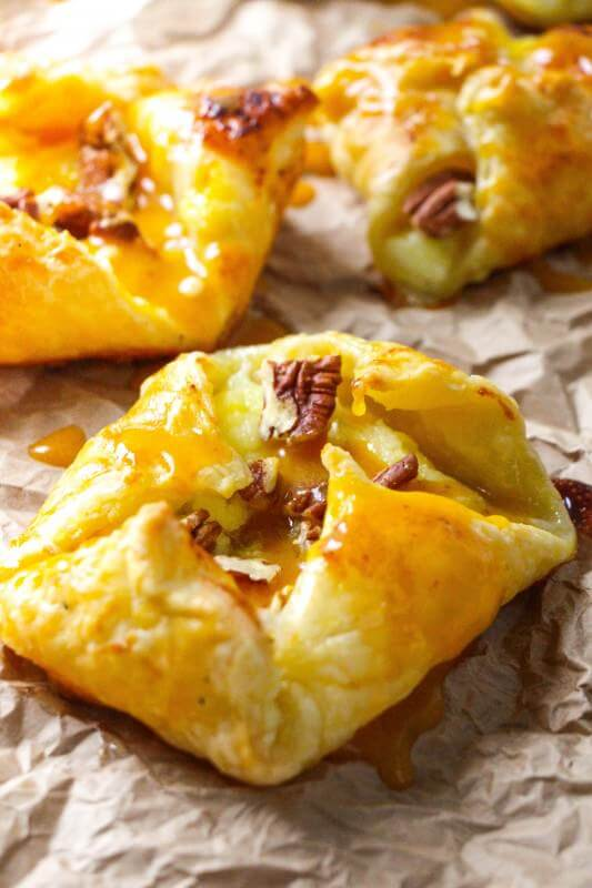 Easy Pumpkin Praline Danish | Oh Sweet Basil