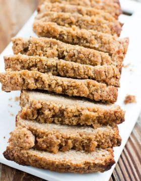 Banana Crumb Bread Recipe ohsweetbasil.com