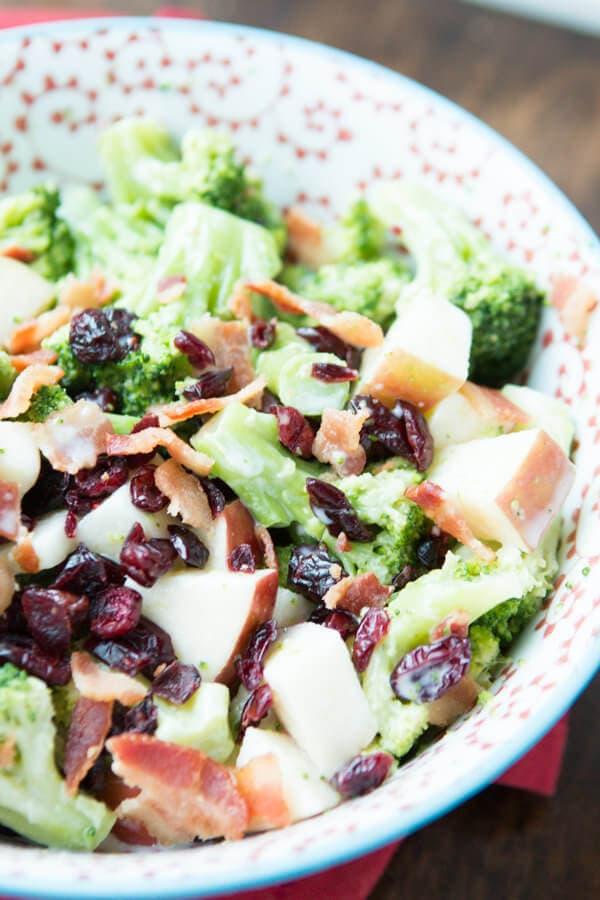 Broccoli Salad ohsweetbasil.com