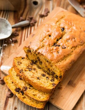 Banana bread as a pumpkin bread mashup! Whenever you've got that last cup of pumpkin leftover and a few bananas ripening make pumpkin banana bread!