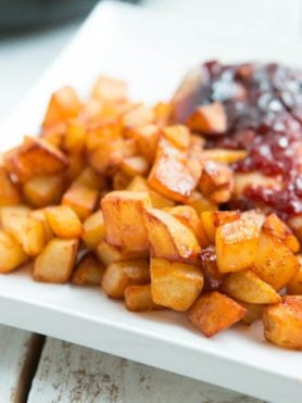 Fried Potatoes and 5 Tips for Using Produce
