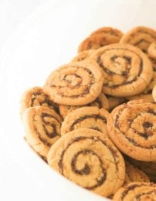 This is my grandmother's famous pinwheel cookie recipe. they are so good! ohsweetbasil.com