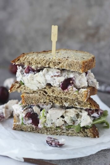 Lightened-Up-Chicken-Salad-with-Bing-Cherries-Pecans-and-Blue-Cheese-4