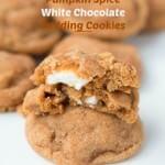 Pumpkin Spice White Chocolate Cookies