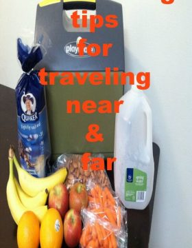 Clean eating tips for traveling near & far