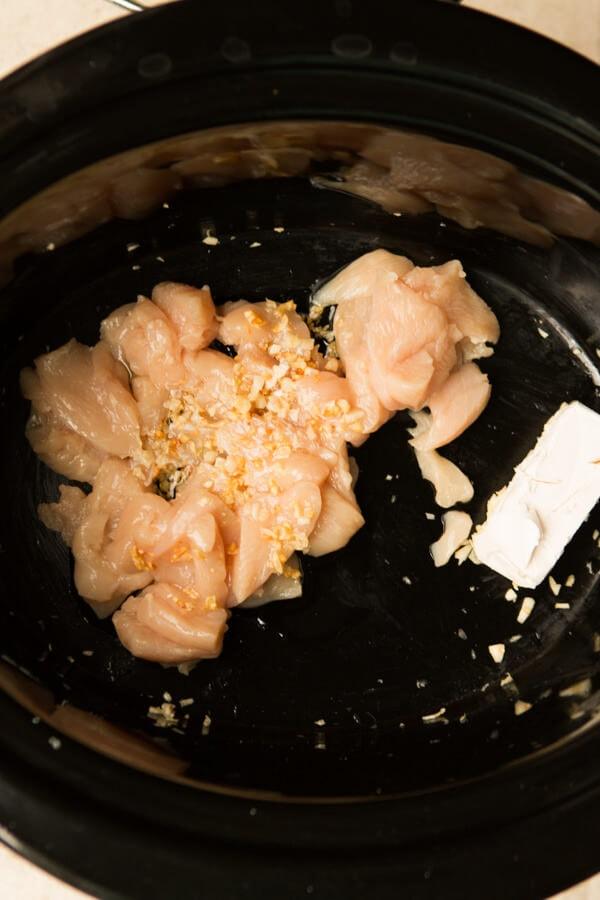 Slow Cooker Chicken Alfredo Rice Casserole Recipe