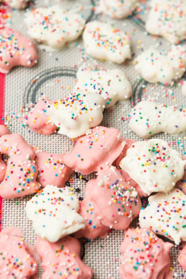 Circus Animal Crackers in 5 minutes! ohsweetbasil.com