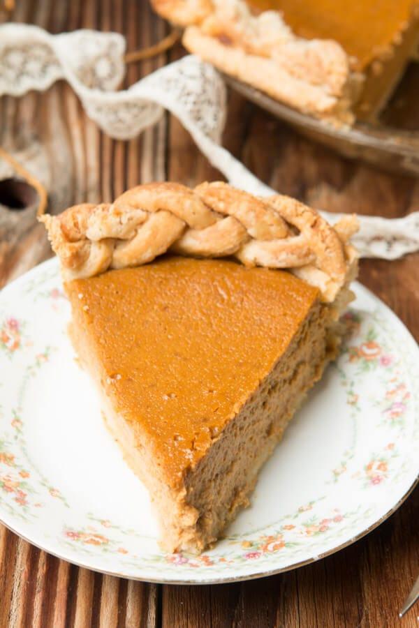 Our favorite, fool proof, Classic Pumpkin Pie Recipe ohsweetbasil.com