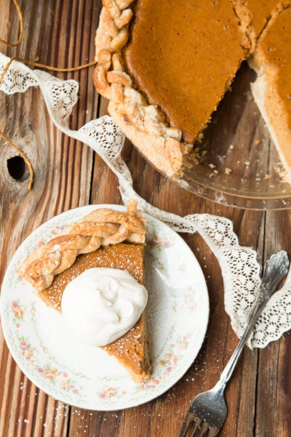Our favorite, fool proof, Classic Pumpkin Pie Recipe ohsweetbasil.com