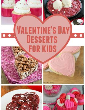 Valentine's Day Desserts for Kids on Oh Sweet Basil