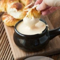 The perfect soft pretzel with cheese sauce recipe ohsweetbasil.com