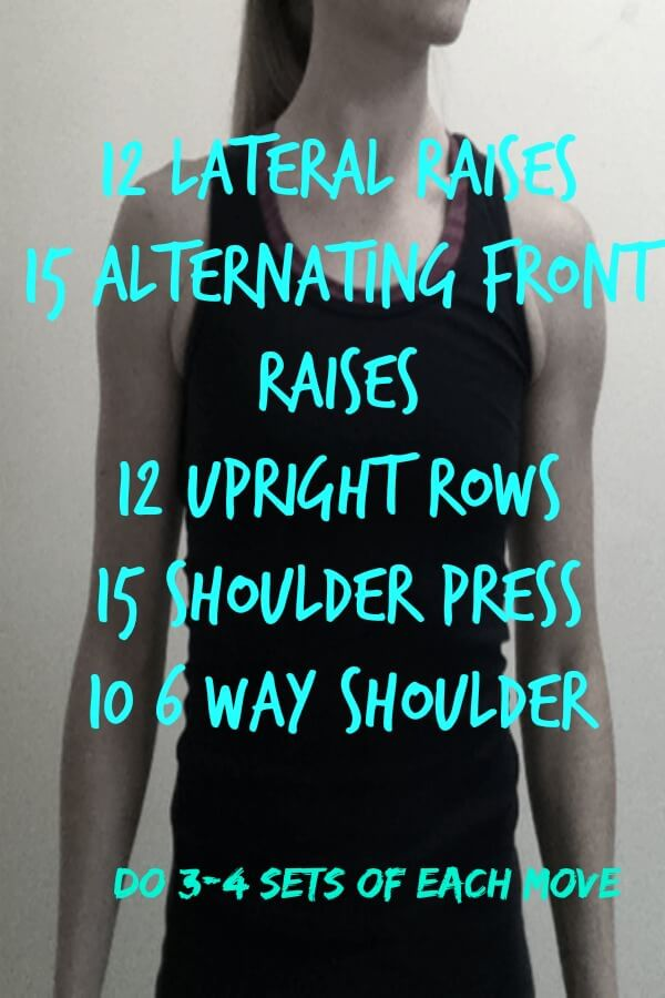5 Moves for Ripped Shoulders