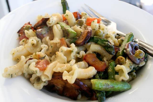 Asparagus and Pesto Primavera