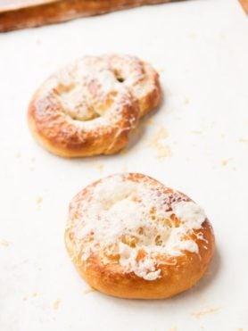 asiago cheese pretzels for the perfect hot snack ohsweetbasil.com