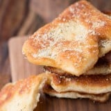 Easy Gralic Parmesan Fry Bread ohsweetbasil.com