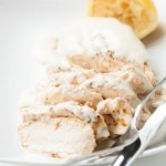 Grilled Chicken with Lemon Cream Sauce