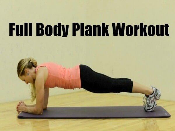 plank workout ohsweetbasil.com