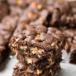Triple Fudge Reese's Brownies