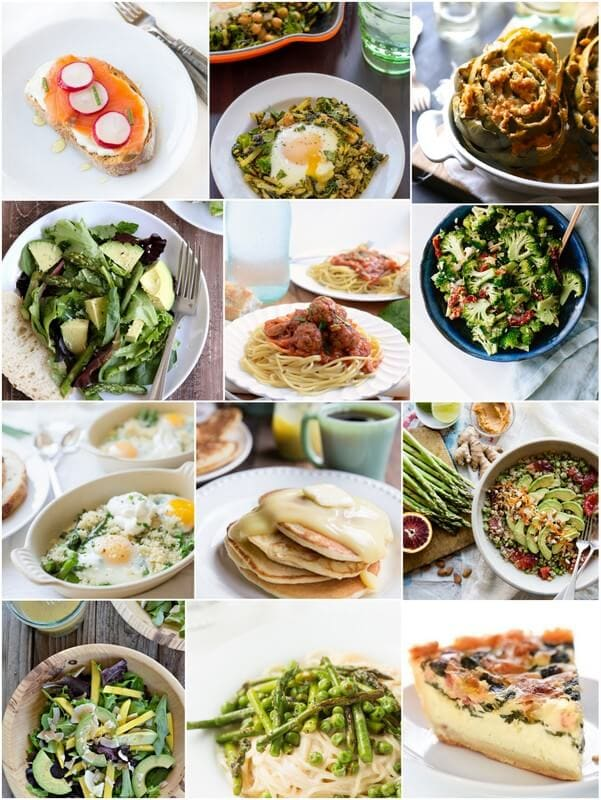 Seasonal Recipes for march ohsweetbasil.com