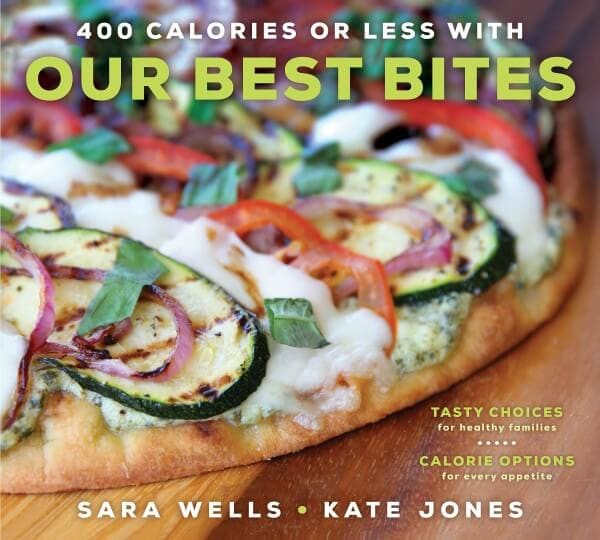 Our Best Bites 400 Calories or Less Cookbook ohsweetbasil.com Our Best Bites Healthy Grilled Vegetable Pizza ohsweetbasil.com