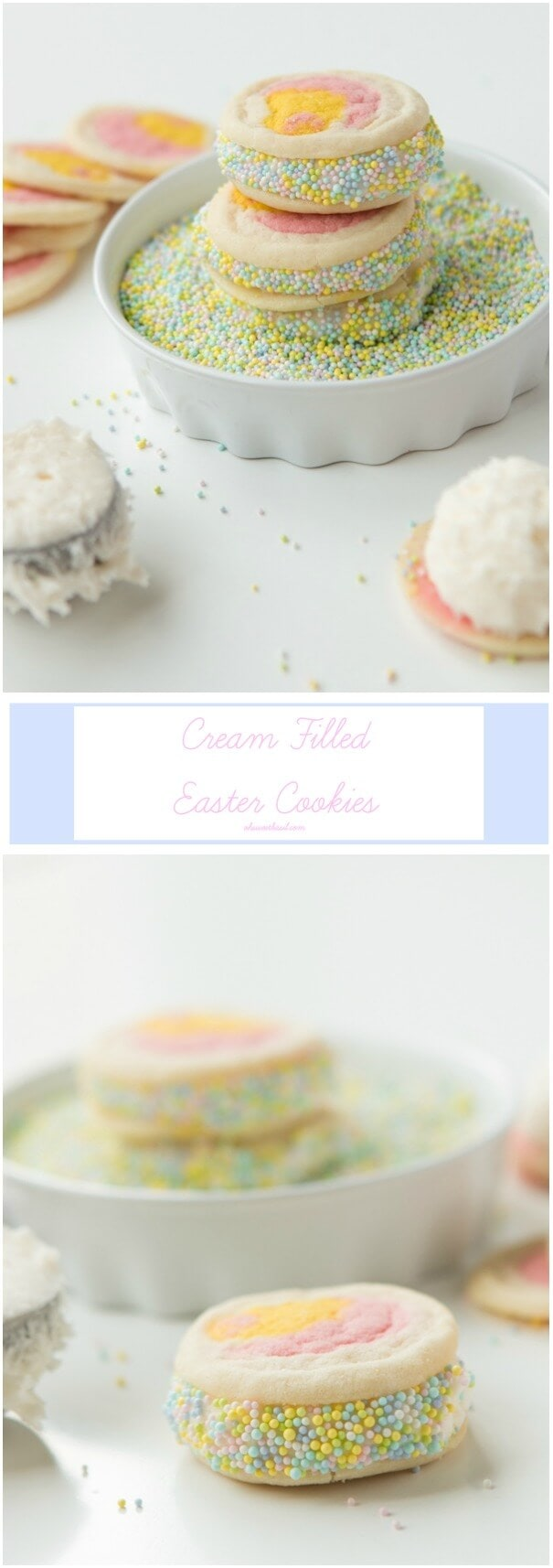 The BEST Easter Cookies with zero hassle for Mom ohsweetbasil.com