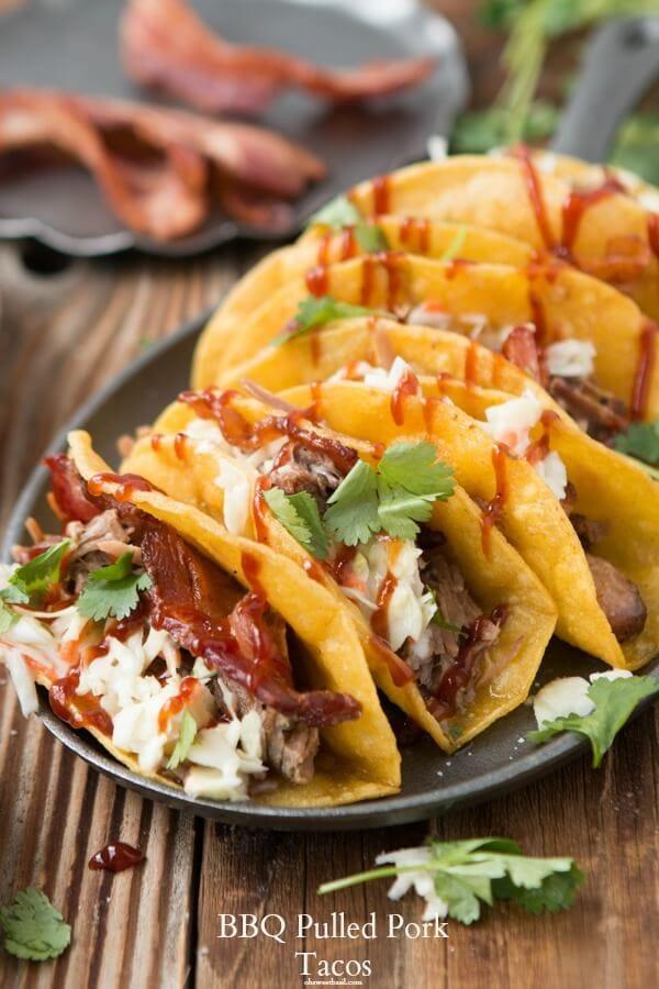 Recipes pulled pork tacos