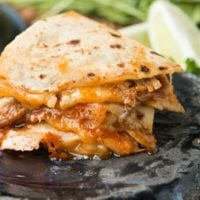 Cafe Rio Copycat Sweet Pork Quesadilla
