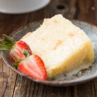 Citrus Chiffon Cake, it's light and airy like angel food and moist like cake ohsweetbasil.com