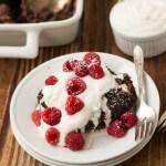 World's Best Chocolate Oat Hot Fudge Cake