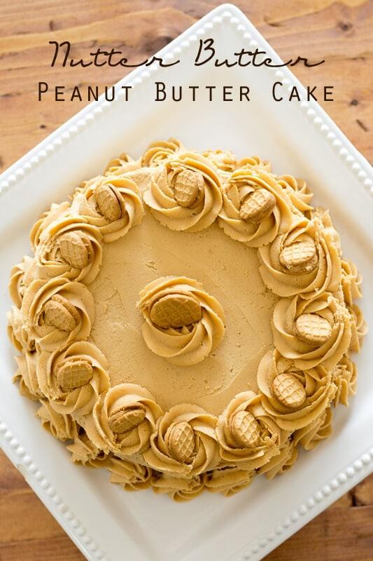 Nutella And Peanut Butter Cake Recipe