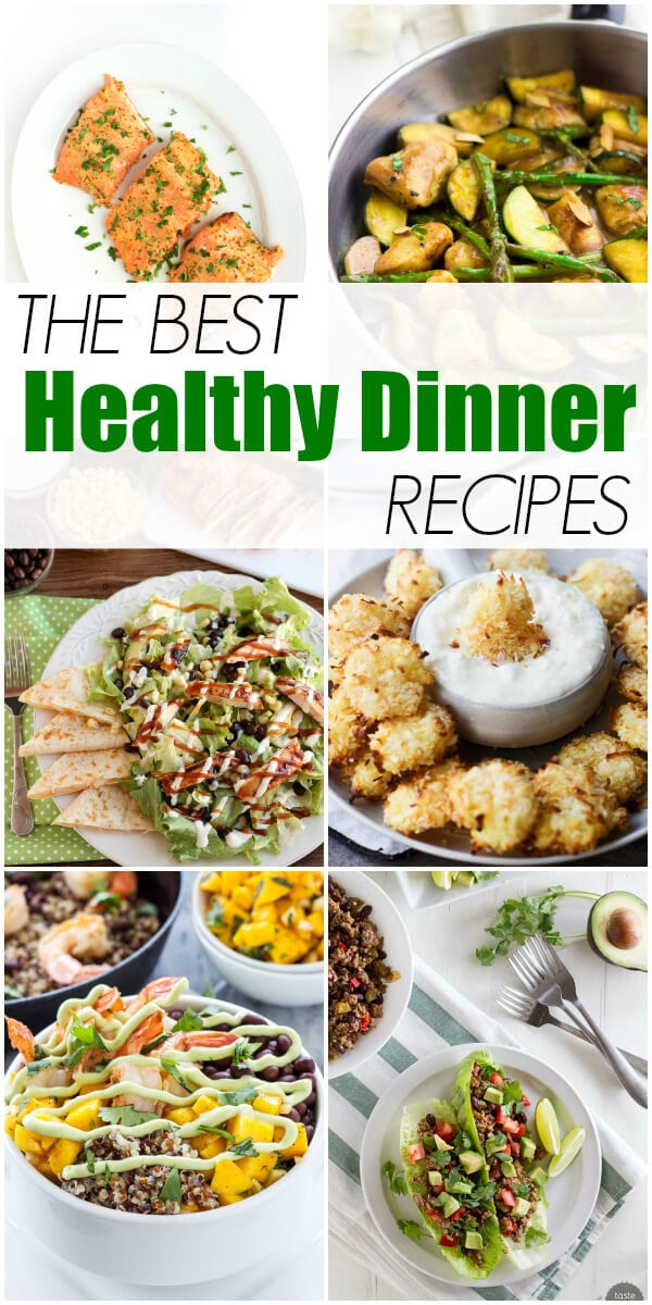 The Best Healthy Dinner Recipes on Oh Sweet Basil