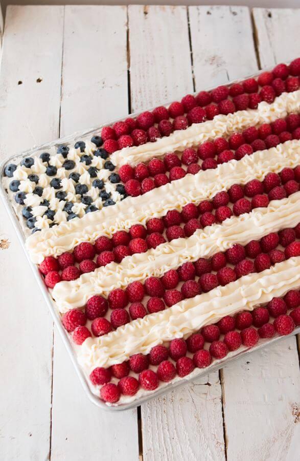 Flag Cake Oh Sweet Basil