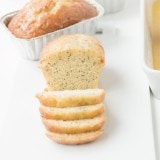 Perfectly delicious glazed poppy seed bread ohsweetbasil.com