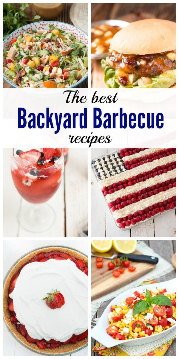 backyard barbecue recipes oh sweet basil