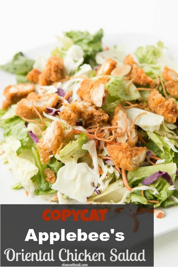 Top Secret Recipes Applebees Oriental Chicken Salad
