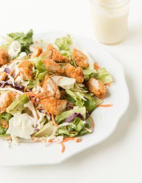 Applebee's copycat oriental chicken salad ohsweetbasil.com