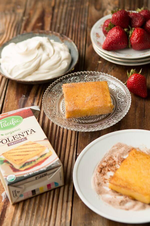 Killer Italian strawberry shortcake with mascarpone whipped cream ohsweetbasil.com