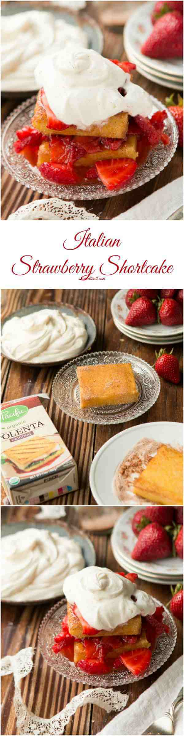 I cannot even tell you how amazing this Italian Strawberry Shortcake is. You HAVE to try it! ohsweetbasil.com