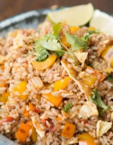 Mexican Fried Rice, a new fried rice is in town! ohsweetbasil.com