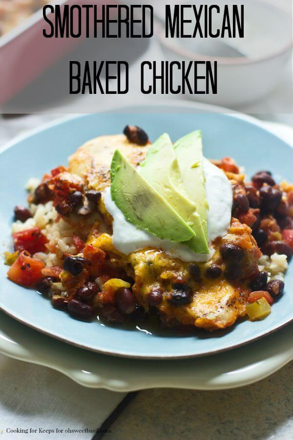Smothered Mexican Chicken