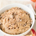 Peanut Butter Toffee Apple Dip