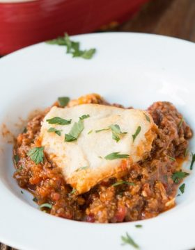 Sloppy Joes Casserole, yeah we went there. ohsweetbasil.com